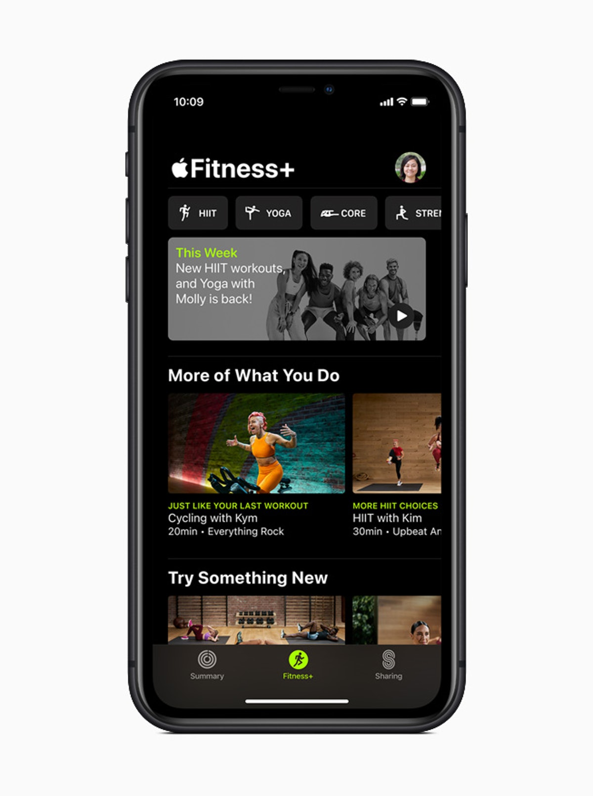 Apple launched Fitness+, a new virtual streaming workout service for Apple Watch.