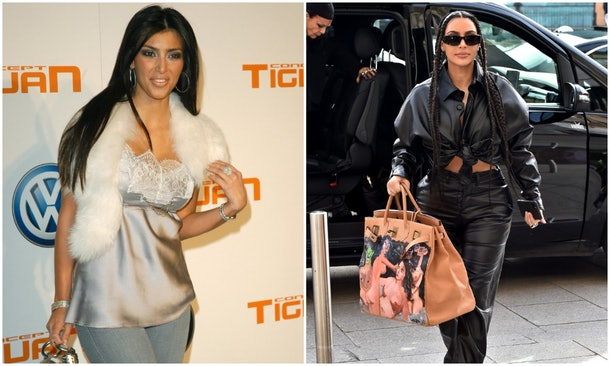 Kim Kardashian has evolved her style through the years.