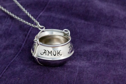 Disney's Hocus Pocus Amok Cauldron Necklace