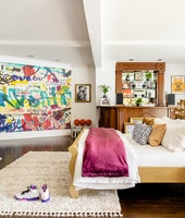 Will Smith Fresh Prince Airbnb bedroom