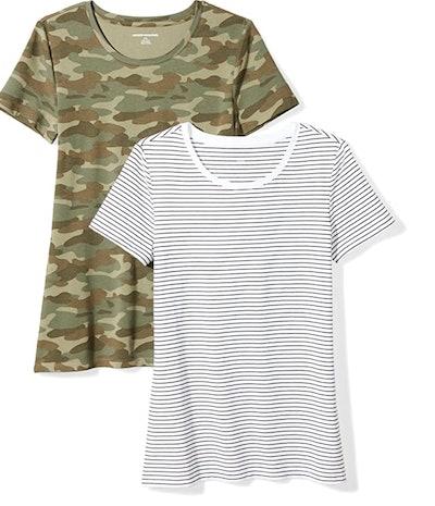 Amazon Essentials 2-Pack Crewneck T-Shirt