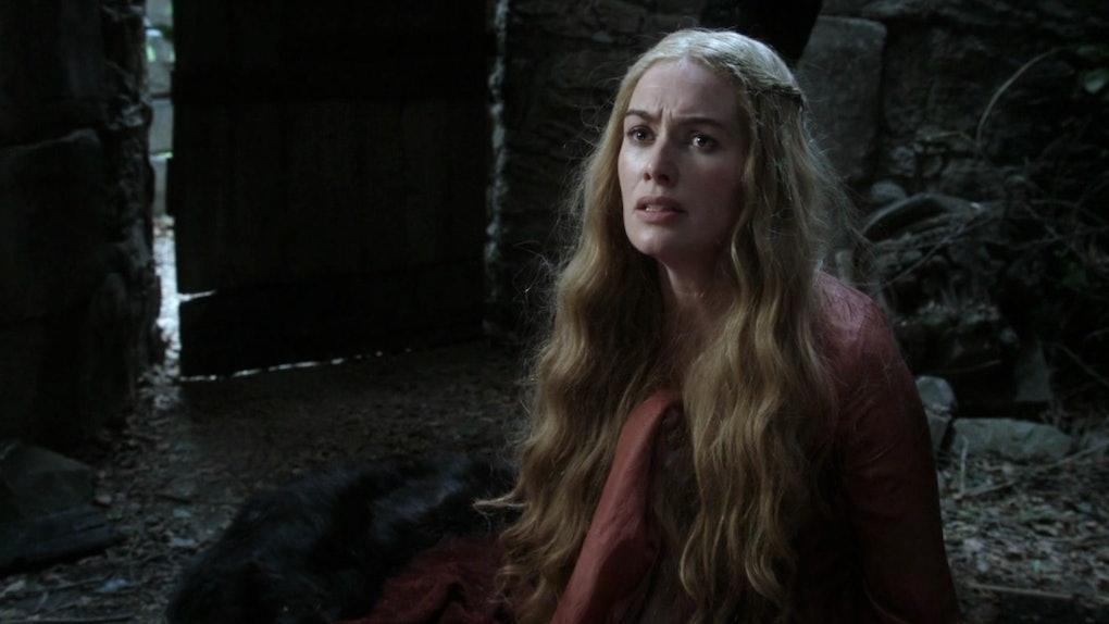Cersei in the 'Game Of Thrones' pilot