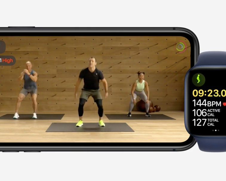 Apple Fitness+ is a new subscription workout video service.