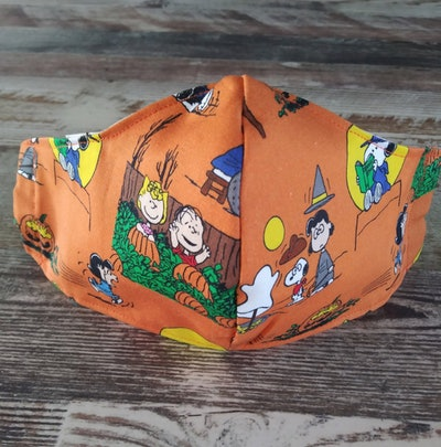 Kids Mask - Halloween It's The Great Pumpkin Charlie Brown