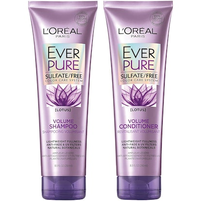 L'Oréal Paris Hair Care EverPure Volume Sulfate Free Shampoo and Conditioner Kit