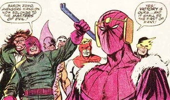 masters of evil zemo falcon and the winter soldier