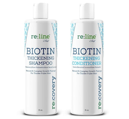 Re:Line Biotin Thickening Shampoo and Conditioner