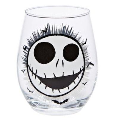 Jack Skellington Stemless Glass