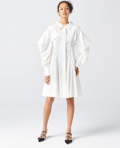 WHITE TOKYO SHIRT DRESS