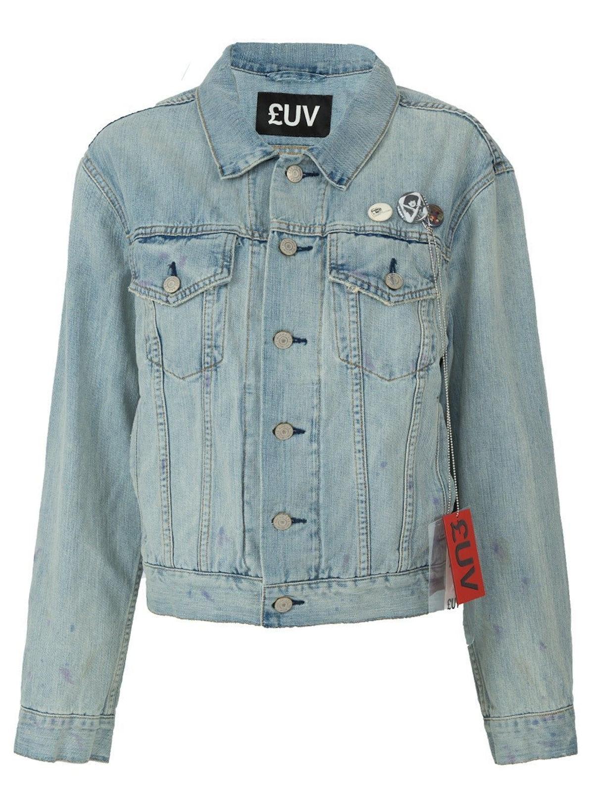Blue Hansa Denim Jacket