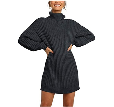Margrine Turtleneck Sweater Dress