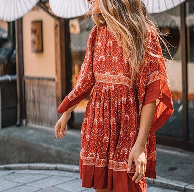 R.Vivimos Women's Summer Floral Tunic Dresses