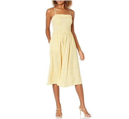 Goodthreads Smock-Back Midi Dress