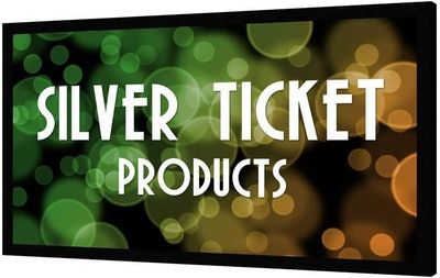 Silver Ticket 100-Inch Projector Screen