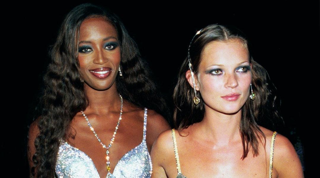 Naomi Campbell Kate Moss 1990s