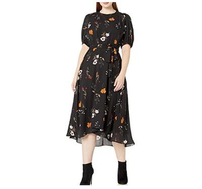 Donna Morgan Georgette High-Low Dress