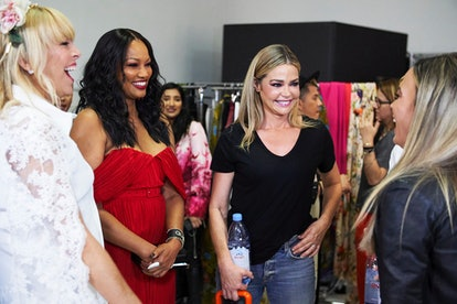 Sutton Stracke, Garcelle Beauvais, and Denise Richards in 'RHOBH' Season 10