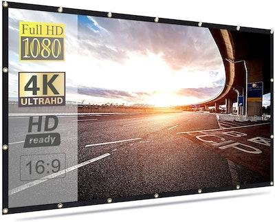 Mdbebbron 120-Inch Projection Screen