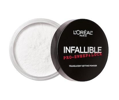 L'Oreal Paris Infallible Pro-Sweep & Lock Translucent Setting Powder