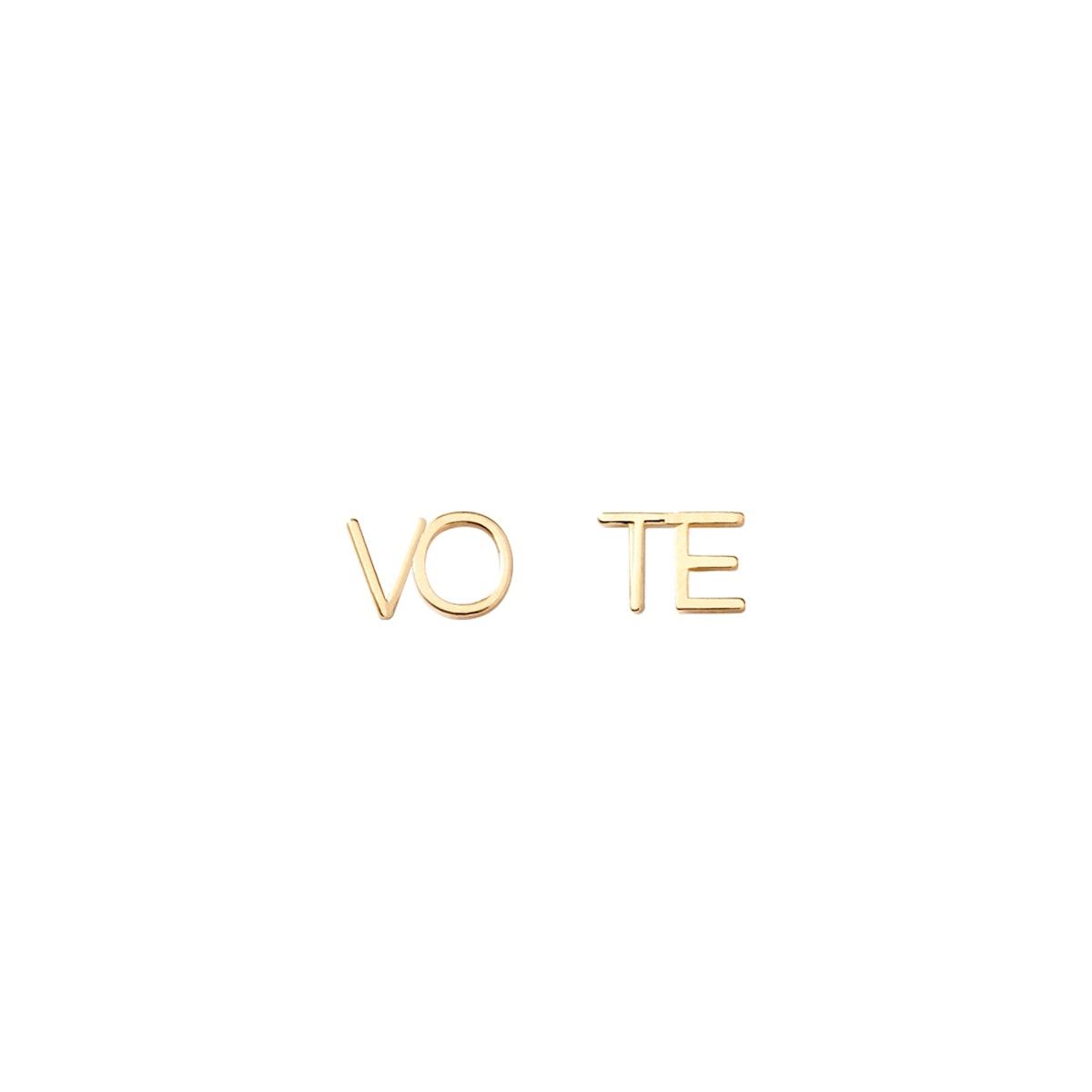 Vote Earrings