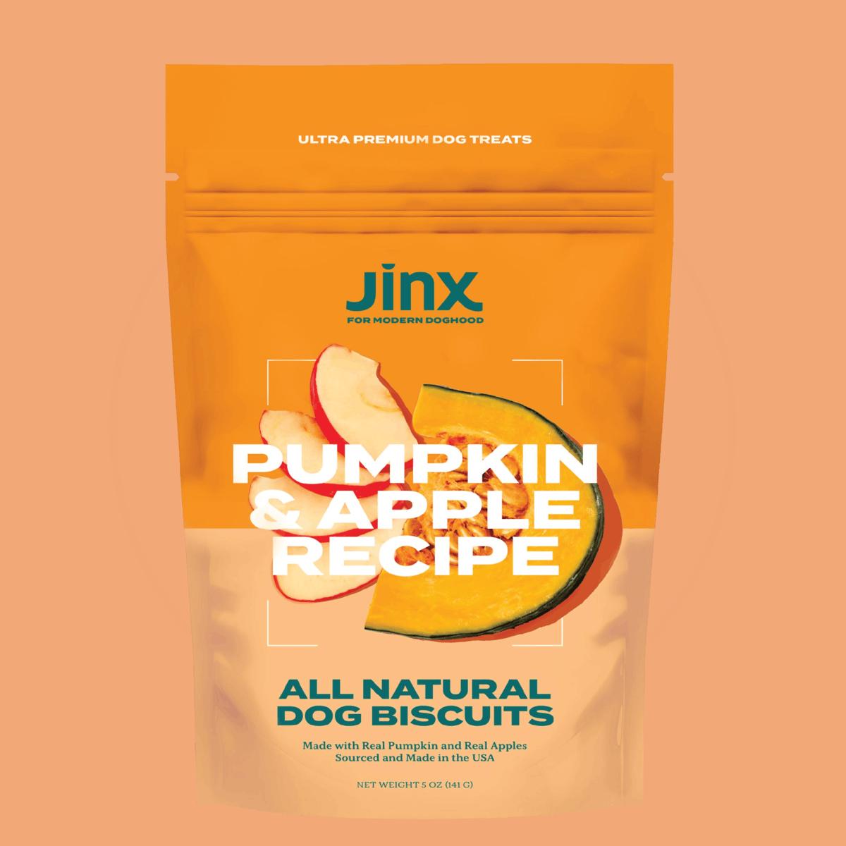 Pumpkin & Apple Dog Treats