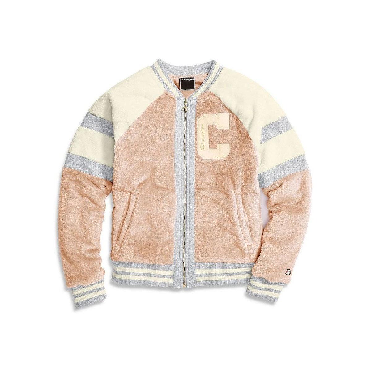 Pink Super Fleece Fur Jacket