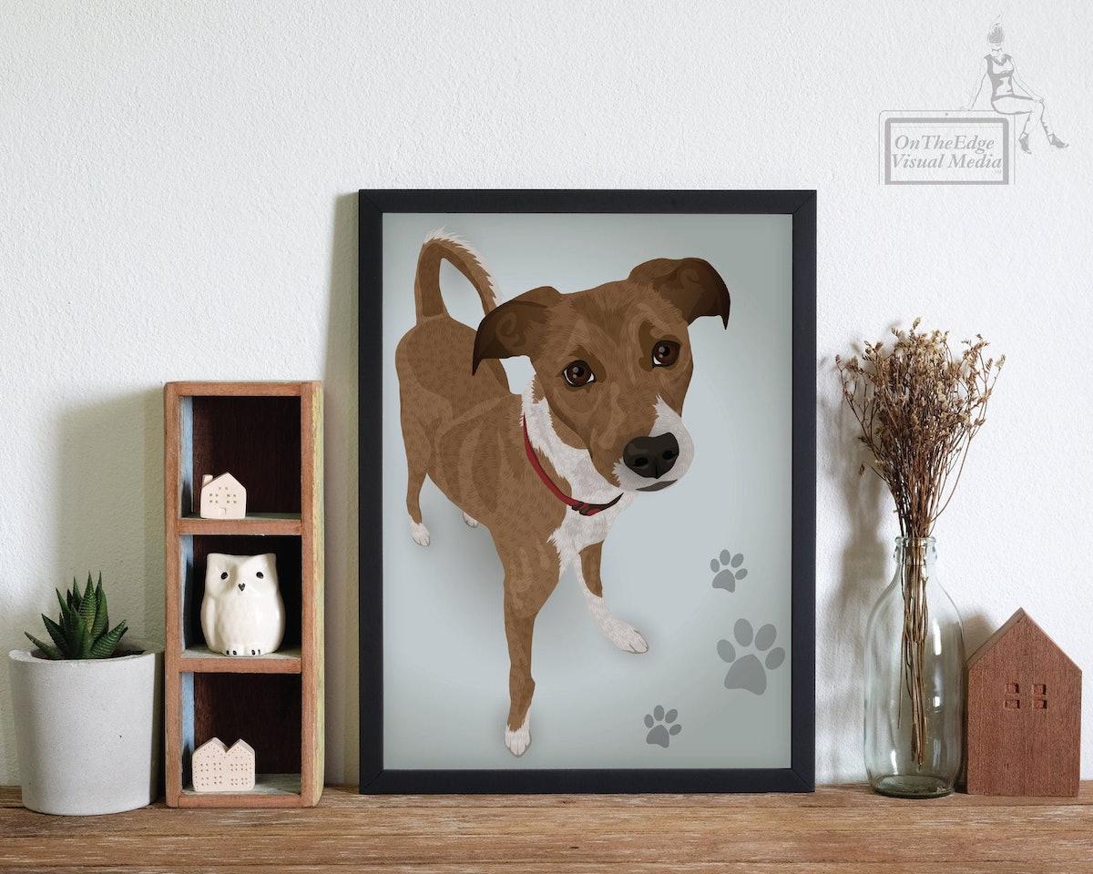 1 Subject Pet Portrait