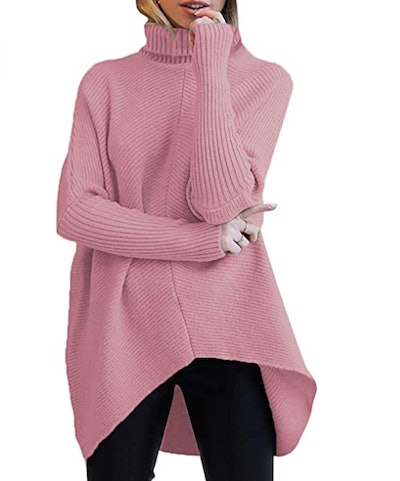 ANRABESS Womens Turtleneck