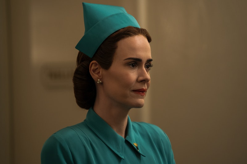 Sarah Paulson's 'Ratched' character Nurse Mildred Ratched via the Netflix press site
