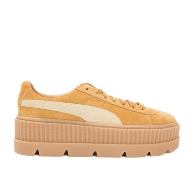 Brown Cleated Creeper Sneakers