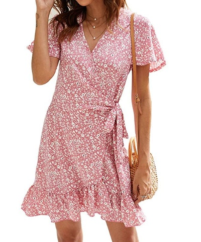 Naggoo Women's Summer Wrap Dress