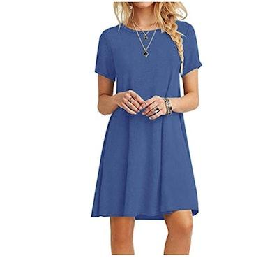 MOLERANI Loose T-Shirt Dress