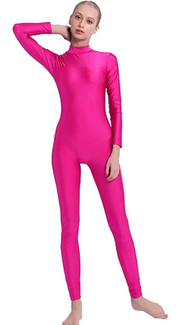 Speerise Pink Full Body Leotard