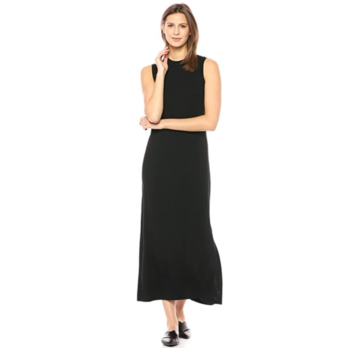 Daily Ritual Mockneck Maxi Dress