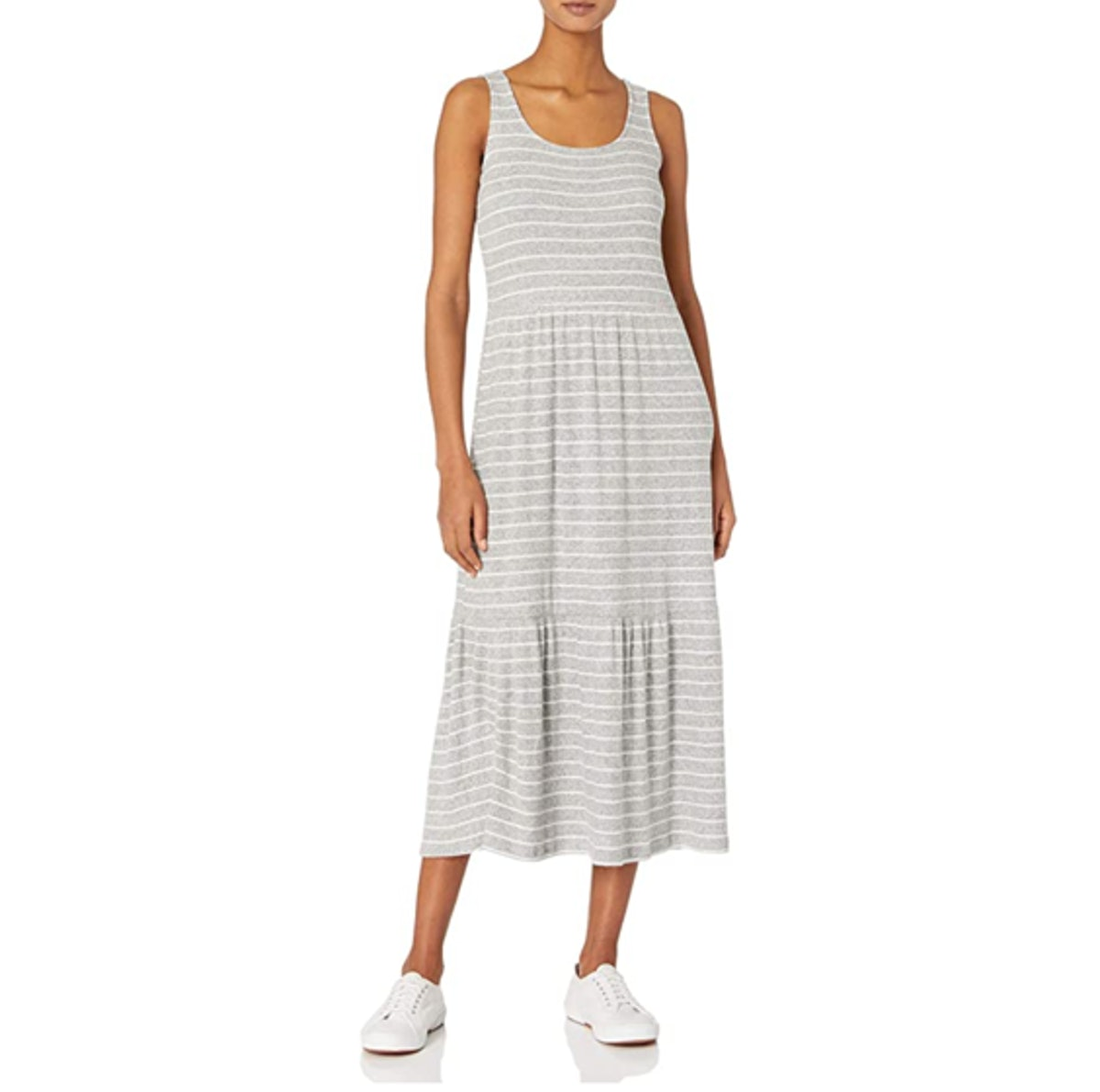 Daily Ritual Tiered Tank Dress