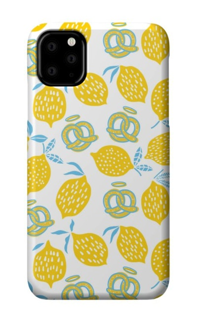 Modern Pretzels & Lemons Phone Case
