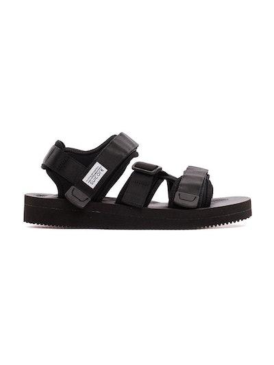 Black Kisee-V Sandals