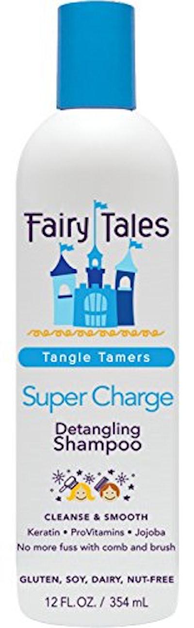 Fairy Tales Tangle Tamer Super Charge Detangling Shampoo for Kids (12 Ounces)