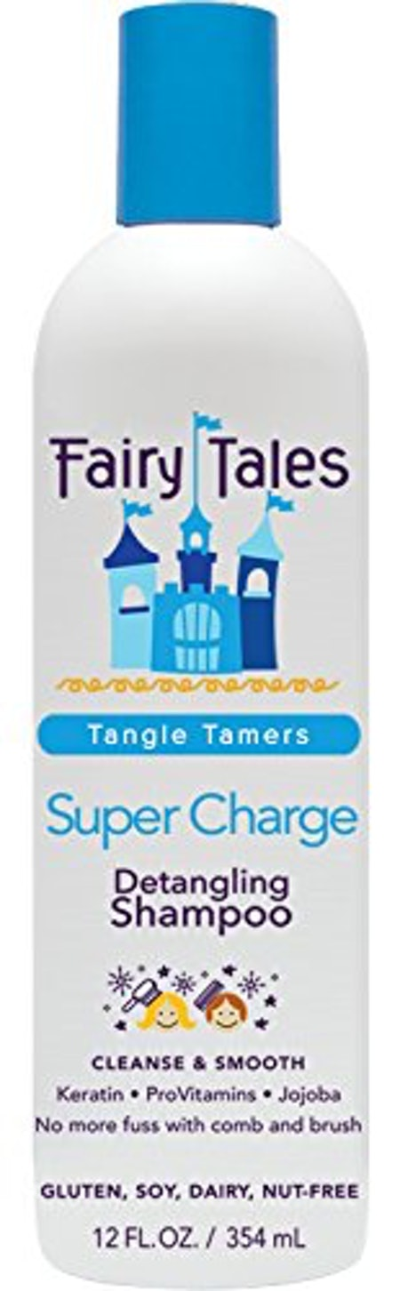 Fairy Tales Tangle Tamer Super Charge Detangling Shampoo for Kids (12 Ounces)