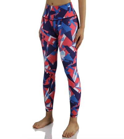 ODODOS High-Rise Pattern Leggings