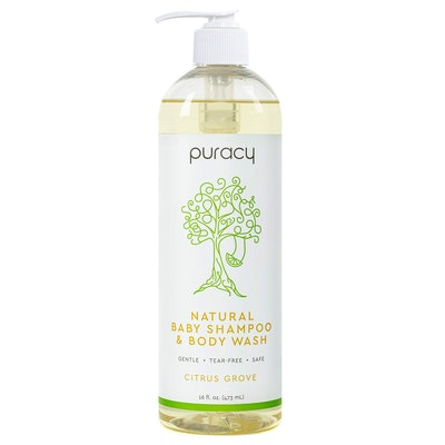 Puracy Natural Baby Shampoo & Body Wash (16 Ounces)