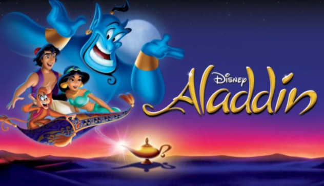 Aladdin is an animated feature from 1992 with plenty of romance and comedy