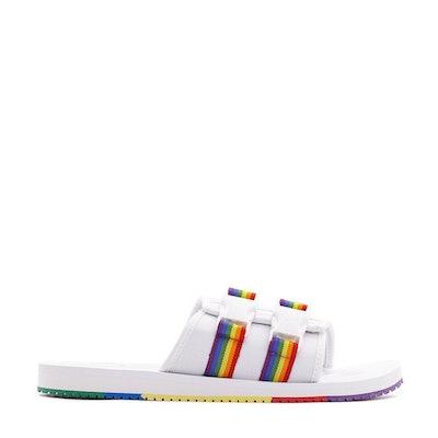 White Wilo Lux Nylon Sandals