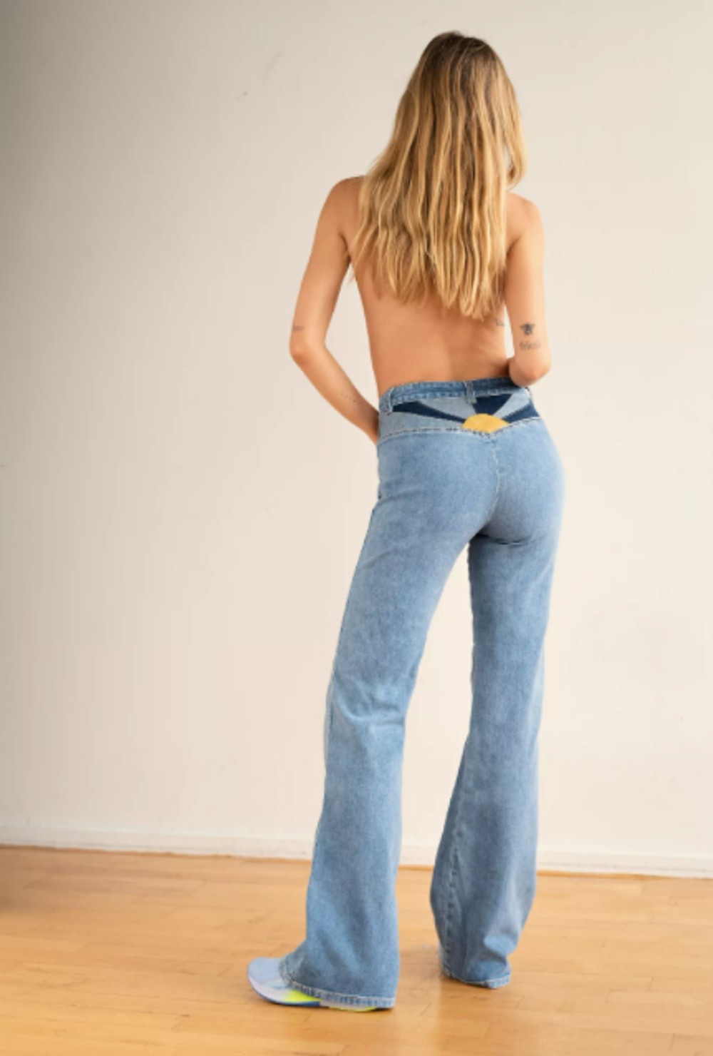 Seasons In The Sun Flare Jeans