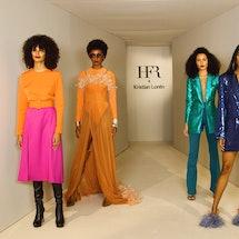 Kristian Loren at Harlem's Fashion Row Spring 2021
