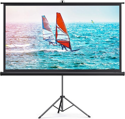TaoTronics 100-Inch Projector Screen With Stand