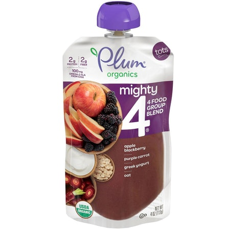 Plum Organics Mighty 4 Organic Toddler Food