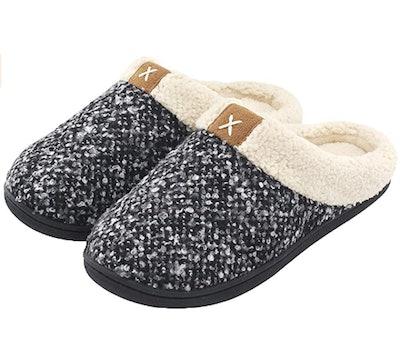 UltraIdeas Women's Cozy Memory Foam Slippers