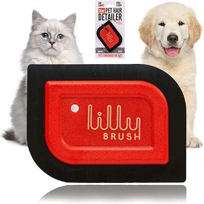 Lilly Brush Mini Pet Hair Detailer