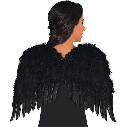 Black Feather Wings 22 inch Dark Angel Costume